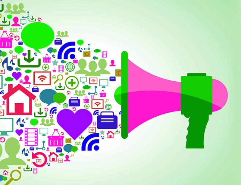 Social-Media-Marketing-megaphone